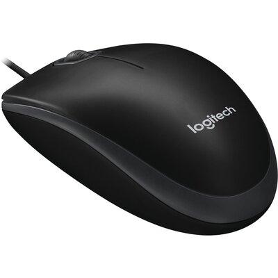 Мишка Logitech B100 Black