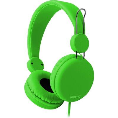 Слушалки с микрофон Maxell SMS-10S Spectrum, Зелен