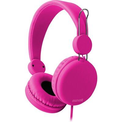 Слушалки с микрофон Maxell SMS-10S Spectrum, Розов