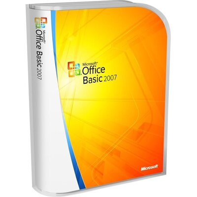 Microsoft Office Basic 2007 32-bit OEM
