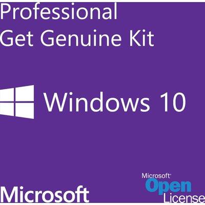 Microsoft Windows 10 Pro, GGK 64Bit Eng Intl OEI DVD