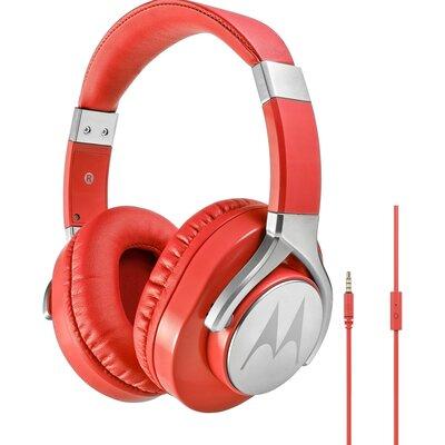 Слушалки с микрофон Motorola Pulse Max, Червени