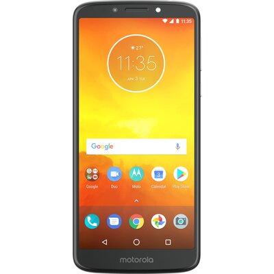Телефон Motorola Moto E5, 16GB, Dual SIM, Гланцово сиво