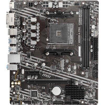 Дънна платка MSI A520M-A PRO