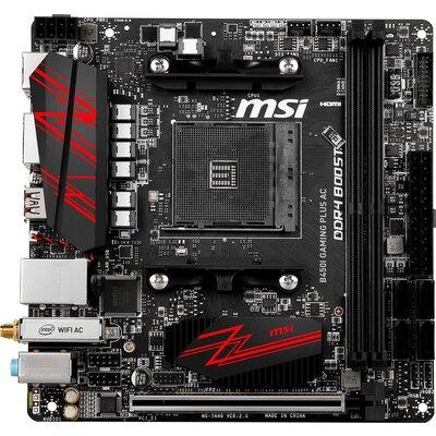 Дънна платка MSI B450I GAMING PLUS AC