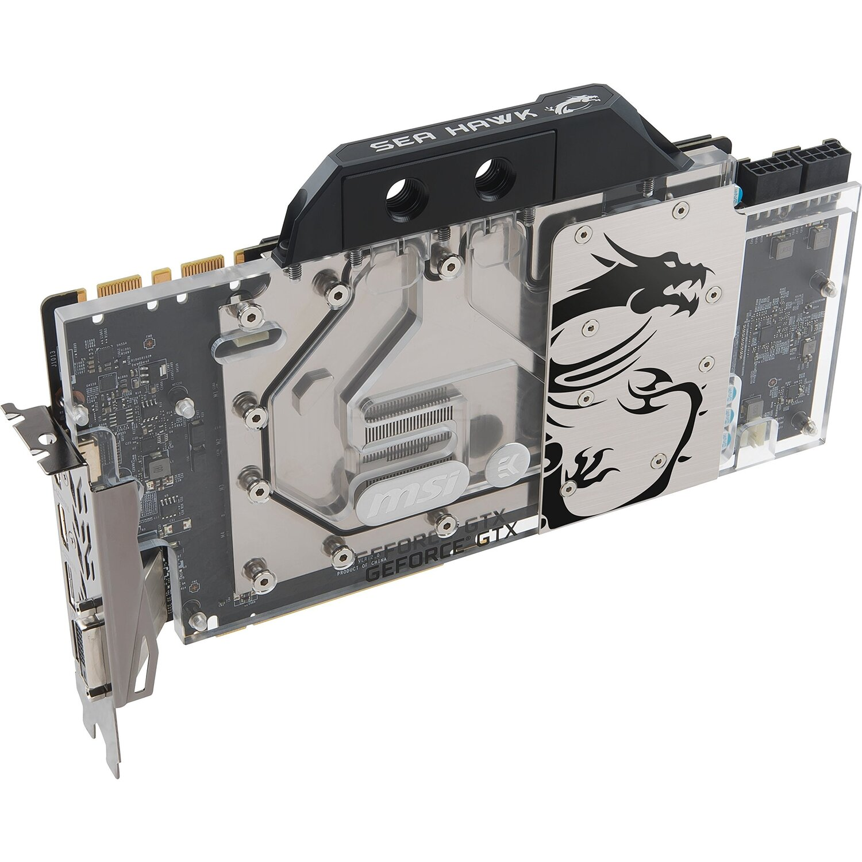 Видео карта MSI GeForce GTX 1080 Ti SEA HAWK EK X - second hand