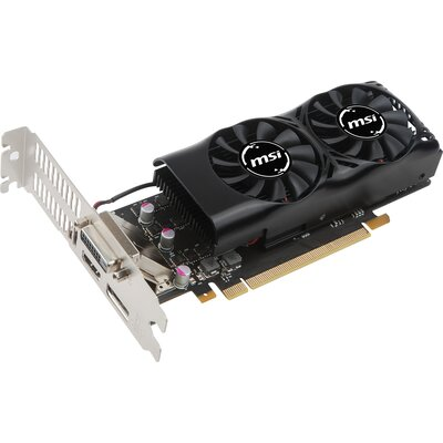 Видео карта MSI GeForce GTX 1050 Ti 4GT LP