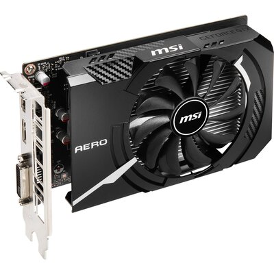 Видео карта MSI GeForce GTX 1650 D6 AERO ITX OC
