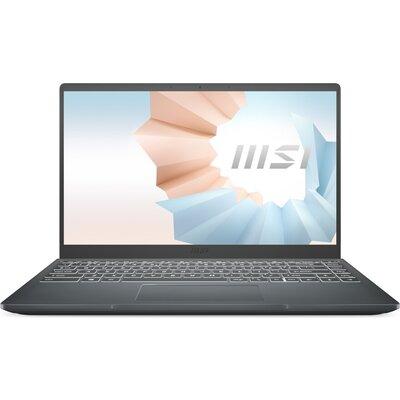 "Лаптоп MSI Modern 14 B11MO - 14"" FHD IPS, Intel Core i3-1115G4, Carbon Gray"