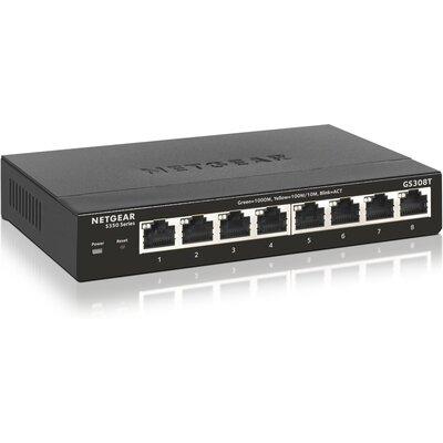 Суич Netgear GS308T 8-Port Gigabit Ethernet Smart Managed Pro Switch