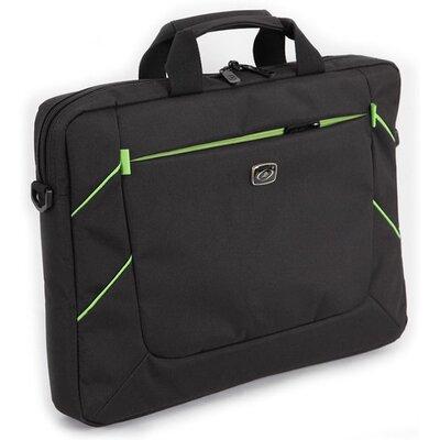 "Чанта за 15.6"" лаптоп Luckysky LSM7463-A Black with green"