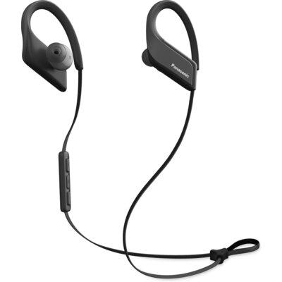 Bluetooth спортни слушалки Panasonic RP-BTS35, черни
