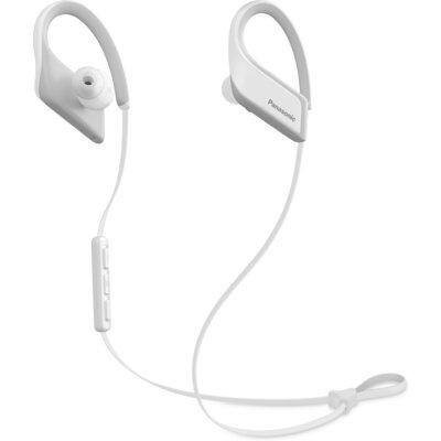 Bluetooth спортни слушалки Panasonic RP-BTS35, бели