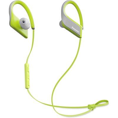 Bluetooth спортни слушалки Panasonic RP-BTS35, жълти