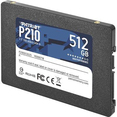 SSD диск Patriot P210 512GB