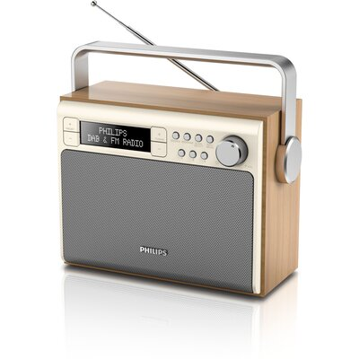 Портативно радио Philips AE5020 с ретро дизайн
