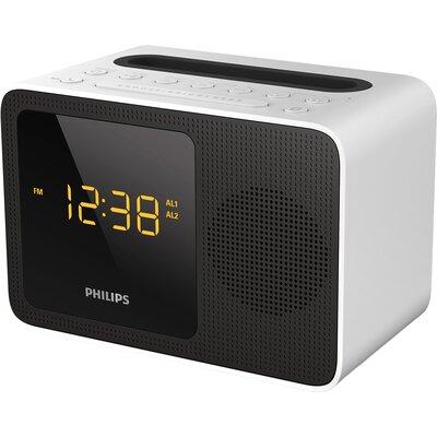 Радиочасовник Philips AJT5300W Bluetooth
