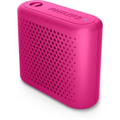 Портативна Bluetooth колонка Philips BT55P, цвят розов