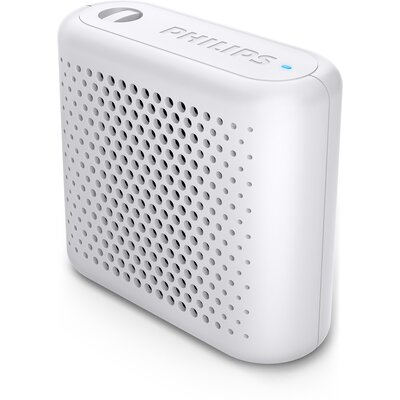 Портативна Bluetooth колонка Philips BT55W, цвят бял