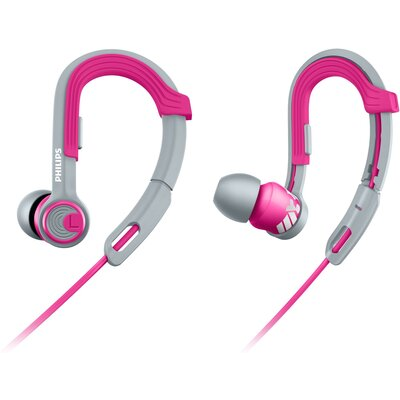 Слушалки тапи Philips ActionFit SHQ3300PK