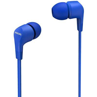 Слушалки тапи с микрофон Philips TAE1105BL, сини