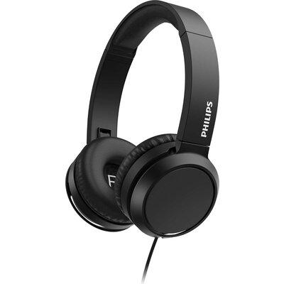 Слушалки с микрофон Philips TAH4105BK, черни