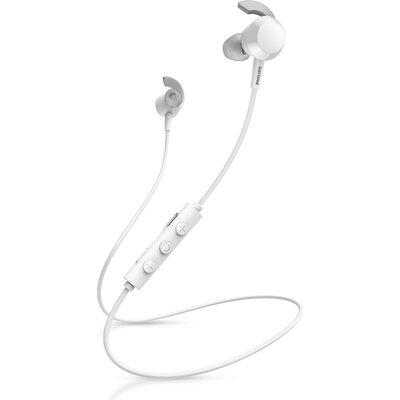 Bluetooth слушалки тапи с микрофон Philips TAE4205WT, бели