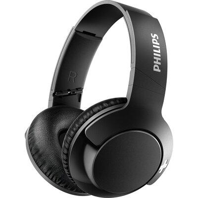 Bluetooth Слушалки Philips BASS+ SHB3175BK, черни