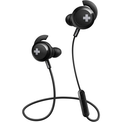Bluetooth Слушалки тапи Philips BASS+ SHB4305BK