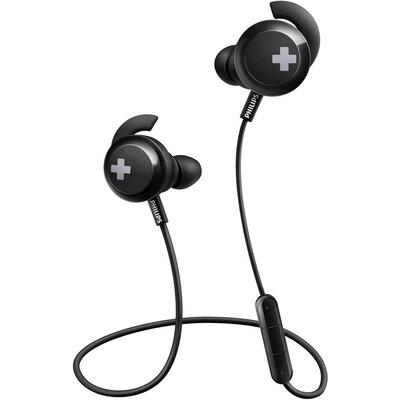 Bluetooth Слушалки тапи Philips BASS+ SHB4305BK
