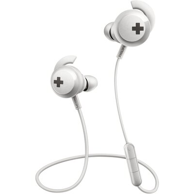 Bluetooth Слушалки тапи Philips BASS+ SHB4305WT