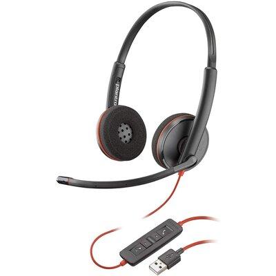 Слушалки с микрофон Plantronics Blackwire 3220 USB-A