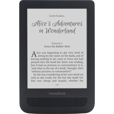 "eBook четец PocketBook Basic Touch 2 PB625 - 6"", Черен"