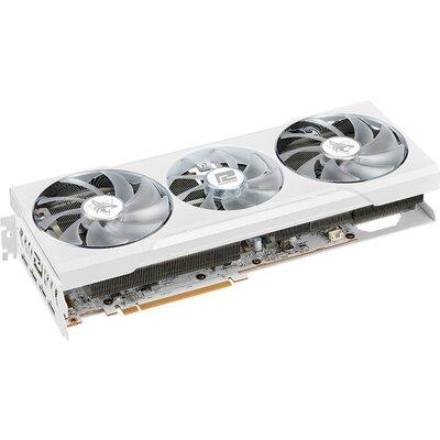 Видео карта PowerColor Hellhound Spectral White AMD Radeon RX 6700 XT 12GB GDDR6