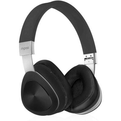 Bluetooth слушалки Rapoo S700, Черни