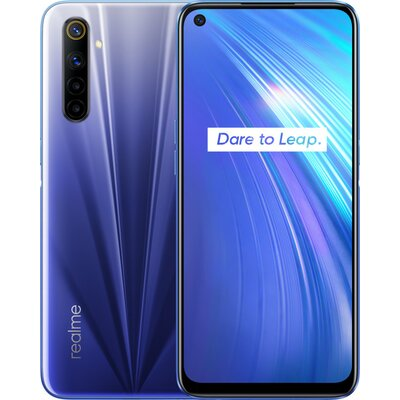 Телефон realme 6 - 64GB Comet Blue