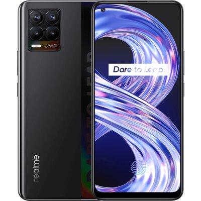 Телефон realme 8 - 64GB, Cyber Black