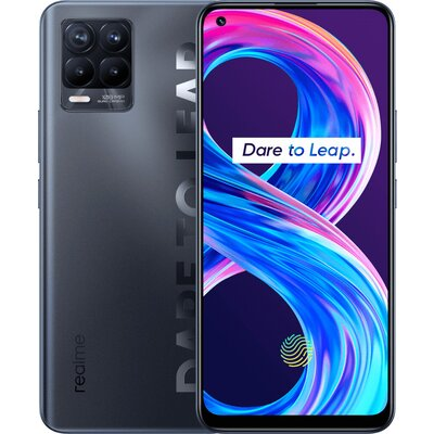Телефон realme 8 Pro - 128GB, Infinite Black