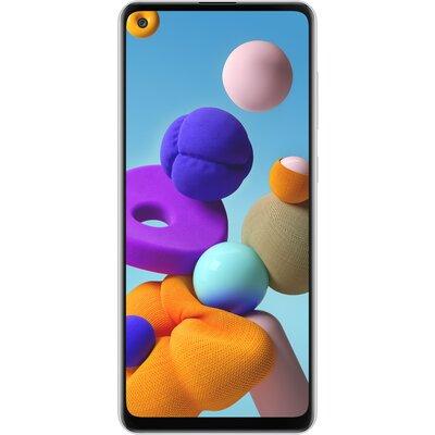Телефон Samsung Galaxy A21s 32GB, бял
