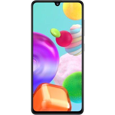 Телефон Samsung Galaxy A41 - 64GB Бял