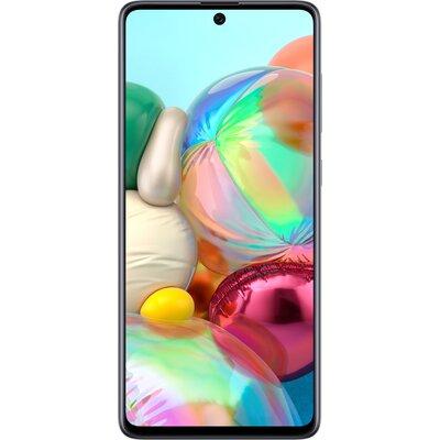 Телефон Samsung Galaxy A71 - 128GB, Сребрист