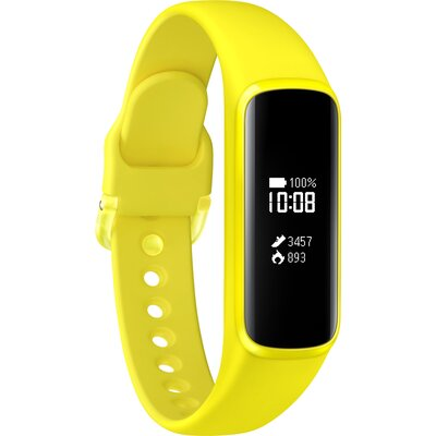 Smart гривна Samsung Galaxy Fit e, жълта