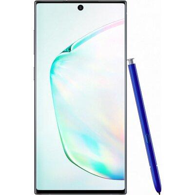 Телефон Samsung Galaxy Note10 - Сребърно сияние