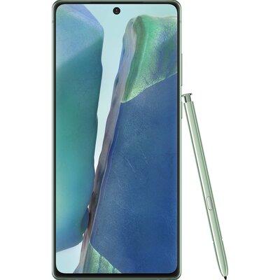 Телефон Samsung Galaxy Note20 - Мистично Зелено
