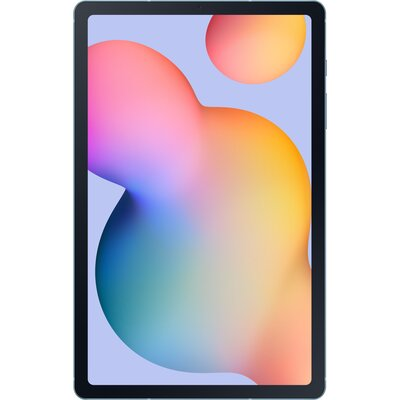 "Таблет Samsung Galaxy Tab S6 Lite - 10.4"" (2000x1200), 64GB, LTE, ангорско синьо"
