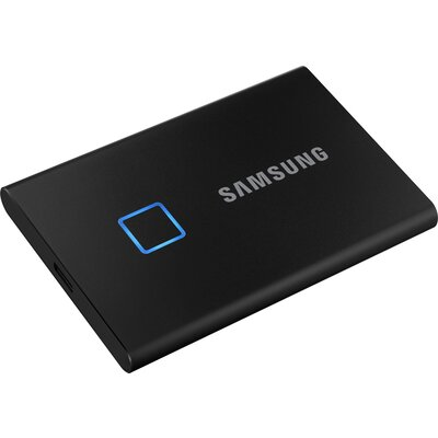 Преносим външен SSD диск Samsung T7 Touch 500GB Black