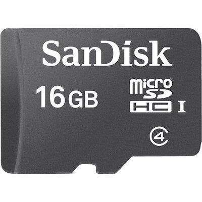 SanDisk microSDHC 16GB Class 4 + SD адаптер