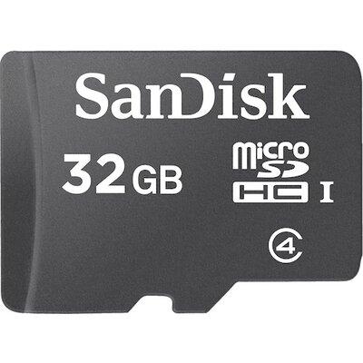 SanDisk microSDHC 32GB Class 4 + SD адаптер