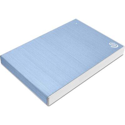Портативен външен диск Seagate Backup Plus Slim 1TB Light Blue