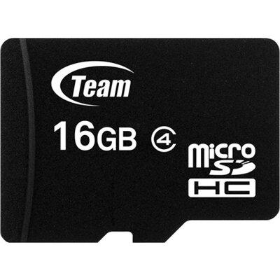 microSDHC карта Team 16GB Class 4 + SD адаптер